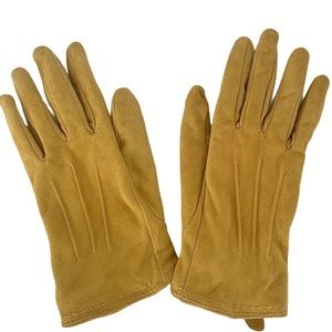 Land's End Suede gloves